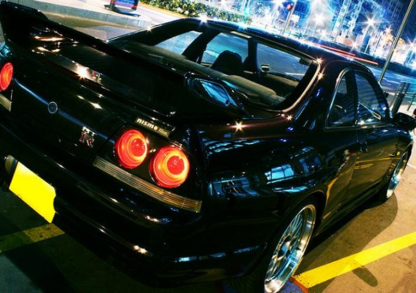 NISSAN SKYLINE R33 GTR MIDNIGHT PURPLE (3)
