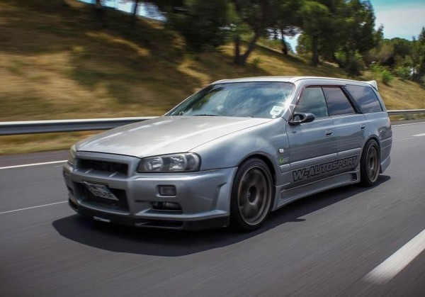 NISSAN STAGEA RS4 FACELIFT SKYLINE R34 Avant